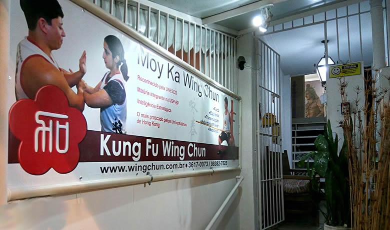 Academia Ving Tsun Niteroi – Novo Letreiro