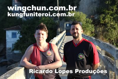 Filmagens de Wing Chun na Ilha da Boa Viagem