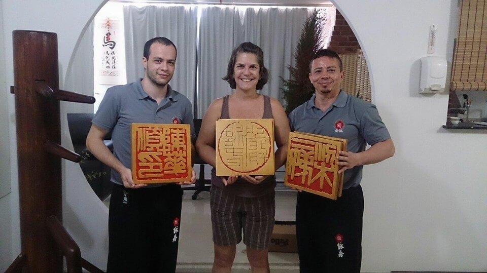 Símbolos Oficiais Chineses do Ving Tsun em Niterói