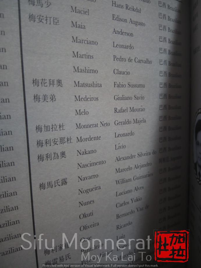- genealogia mestres de wing chun sifu monnerat 11 1 - Fundação da Família Kung Fu em Niterói