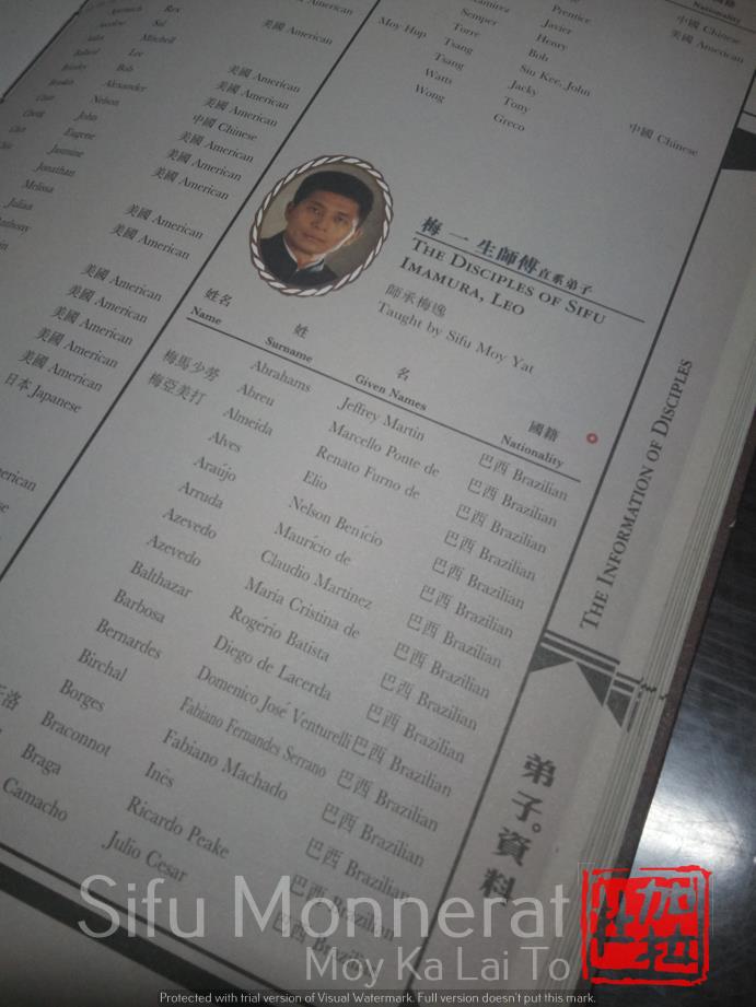 - genealogia mestres de wing chun sifu monnerat 6 1 - Fundação da Família Kung Fu em Niterói