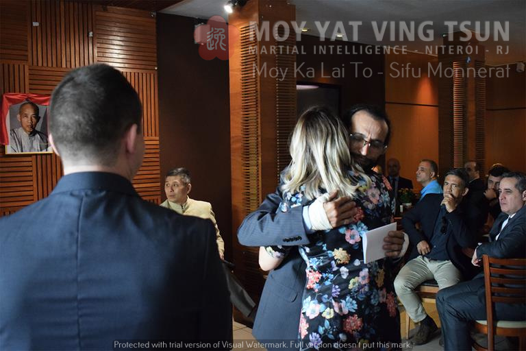Cerimônia de Discipulado de Kamille Burns - moy yat ving tsun kung fu niteroi wing chun 63 - Cerimônia de Discipulado de Kamille Burns