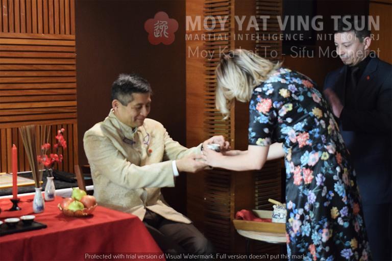 Cerimônia de Discipulado de Kamille Burns - moy yat ving tsun kung fu niteroi wing chun 69 - Cerimônia de Discipulado de Kamille Burns