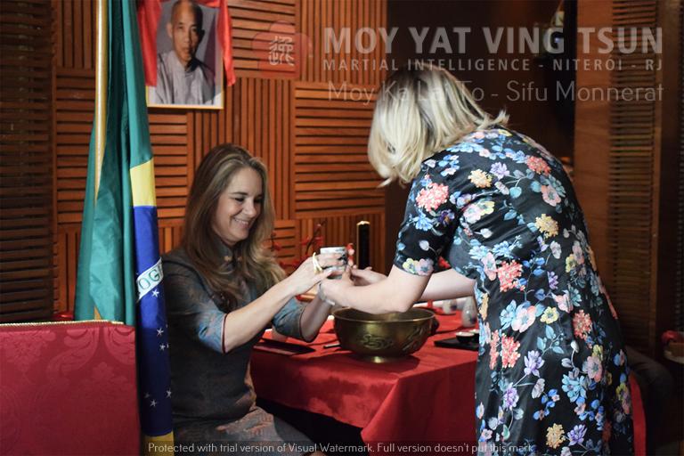 Cerimônia de Discipulado de Kamille Burns - moy yat ving tsun kung fu niteroi wing chun 70 - Cerimônia de Discipulado de Kamille Burns