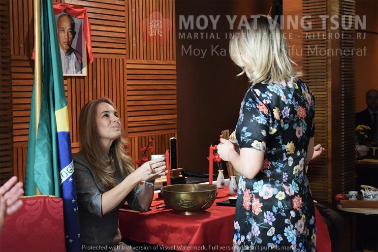Cerimônia de Discipulado de Kamille Burns - moy yat ving tsun kung fu niteroi wing chun 72 - Cerimônia de Discipulado de Kamille Burns