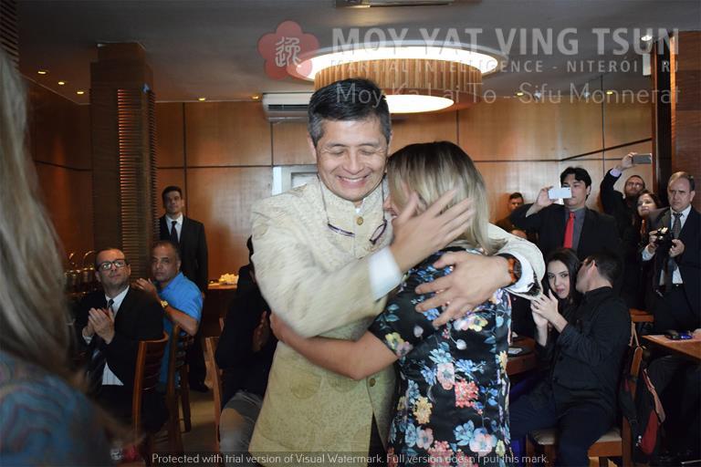 Cerimônia de Discipulado de Kamille Burns - moy yat ving tsun kung fu niteroi wing chun 75 - Cerimônia de Discipulado de Kamille Burns