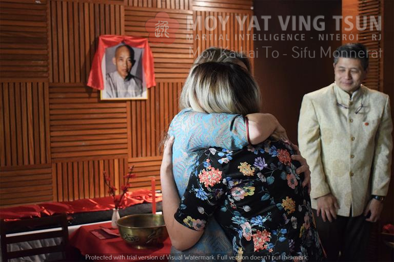 Cerimônia de Discipulado de Kamille Burns - moy yat ving tsun kung fu niteroi wing chun 76 - Cerimônia de Discipulado de Kamille Burns