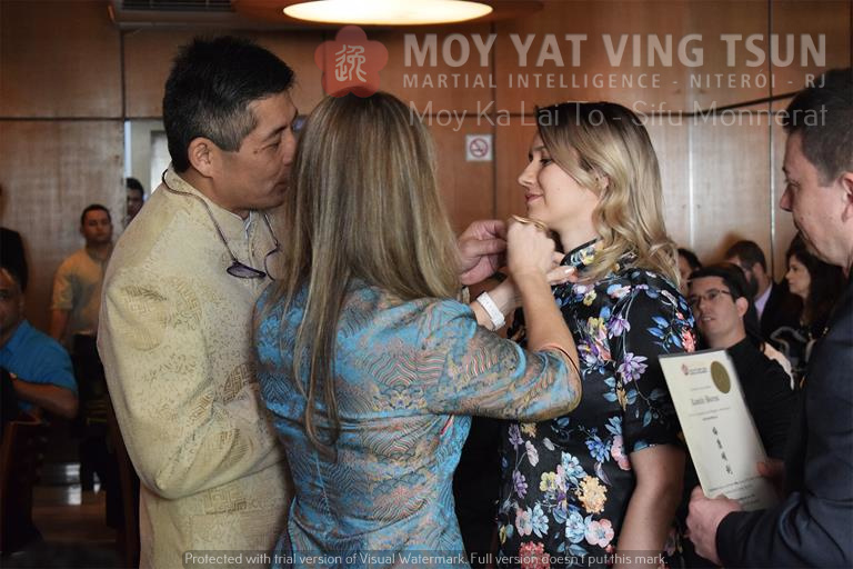 Cerimônia de Discipulado de Kamille Burns - moy yat ving tsun kung fu niteroi wing chun 80 - Cerimônia de Discipulado de Kamille Burns