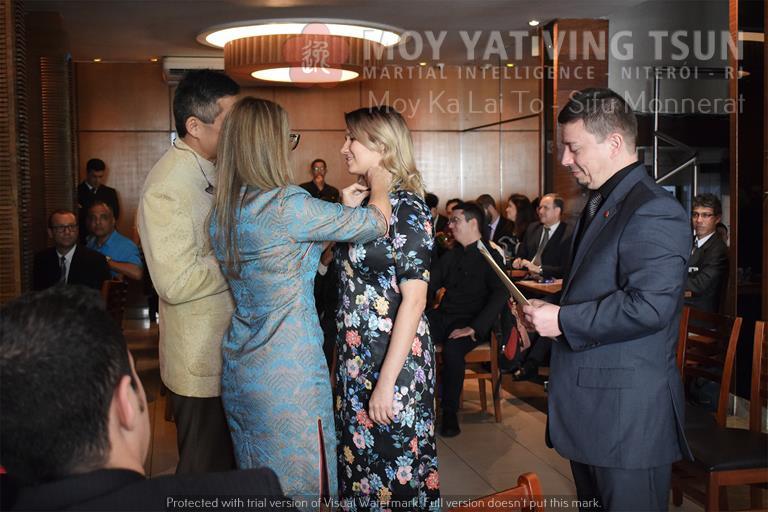 Cerimônia de Discipulado de Kamille Burns - moy yat ving tsun kung fu niteroi wing chun 81 - Cerimônia de Discipulado de Kamille Burns