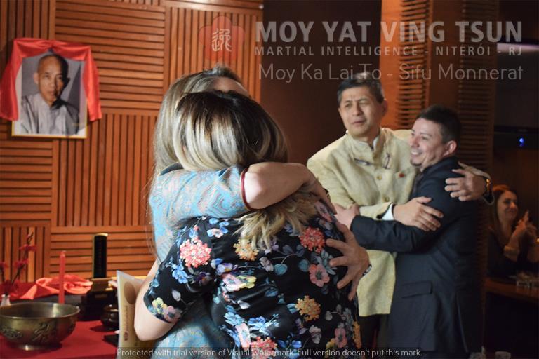 Cerimônia de Discipulado de Kamille Burns - moy yat ving tsun kung fu niteroi wing chun 83 - Cerimônia de Discipulado de Kamille Burns
