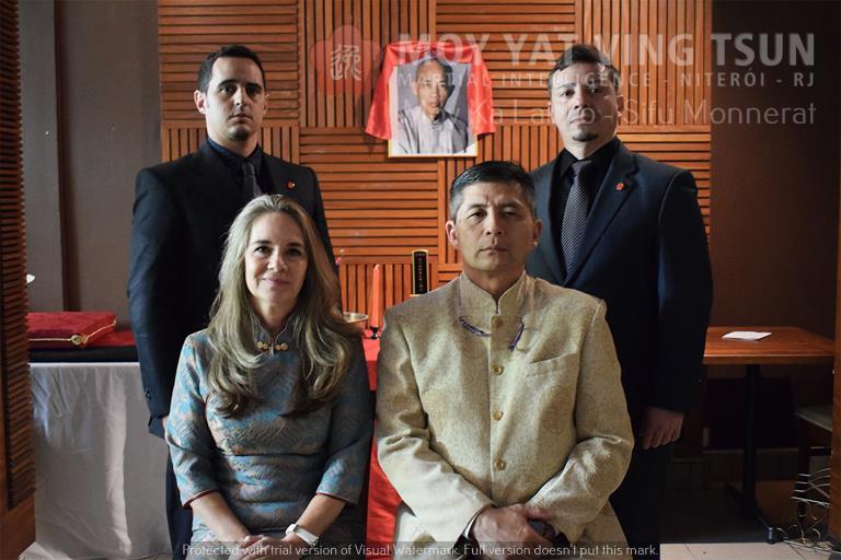 Cerimônia de Discipulado de Kamille Burns - moy yat ving tsun kung fu niteroi wing chun 85 - Cerimônia de Discipulado de Kamille Burns