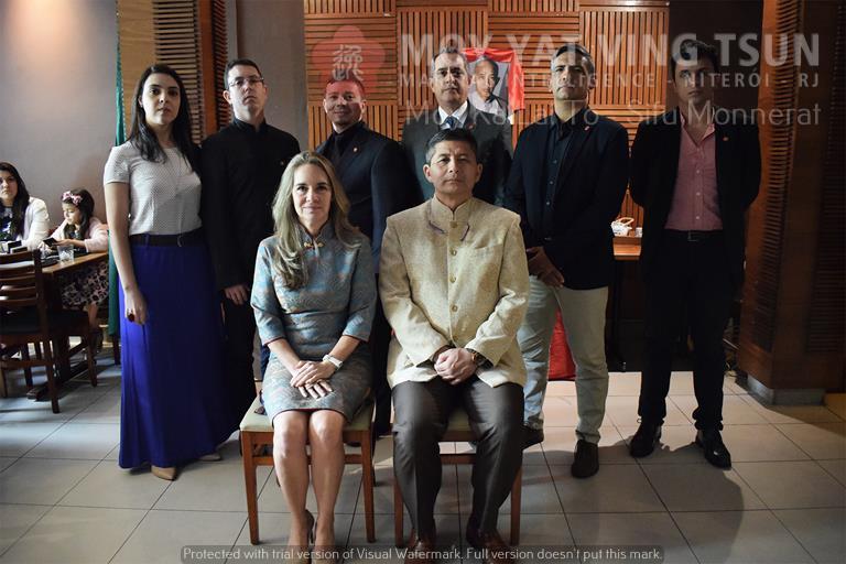 Cerimônia de Discipulado de Kamille Burns - moy yat ving tsun kung fu niteroi wing chun 89 - Cerimônia de Discipulado de Kamille Burns