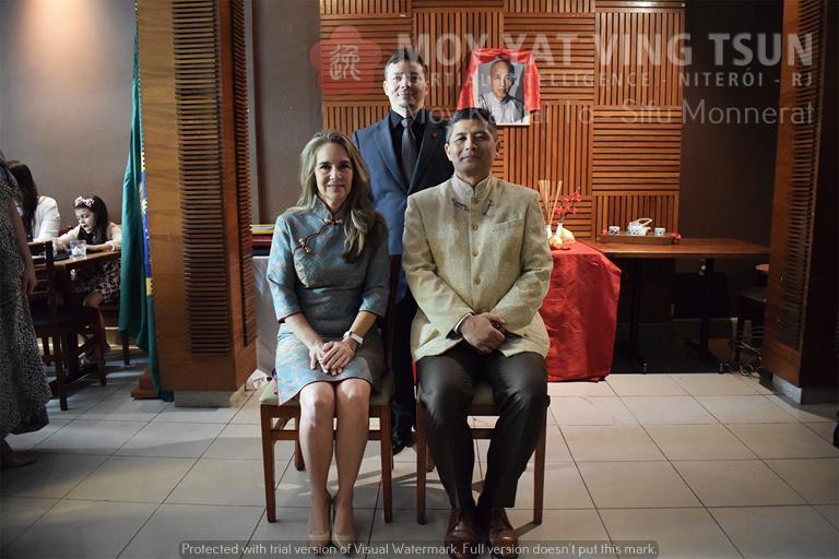 Cerimônia de Discipulado de Kamille Burns - moy yat ving tsun kung fu niteroi wing chun 90 - Cerimônia de Discipulado de Kamille Burns